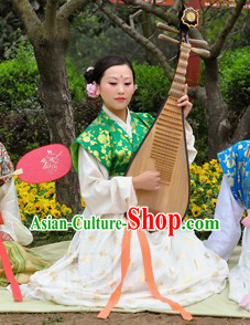 Ancient China Tang Dynasty Clothes for Women