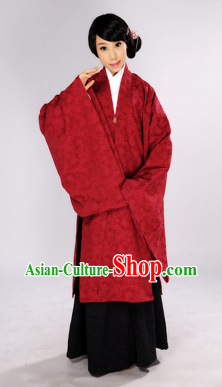 Ancient China Ming Dynasty Ordinary People Outfit for Women