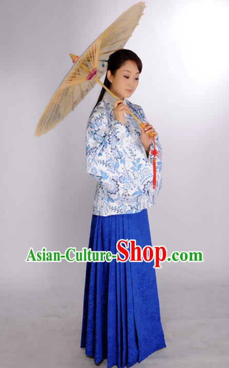 Ancient Chinese Ming Dynasty Clothes for Ladies