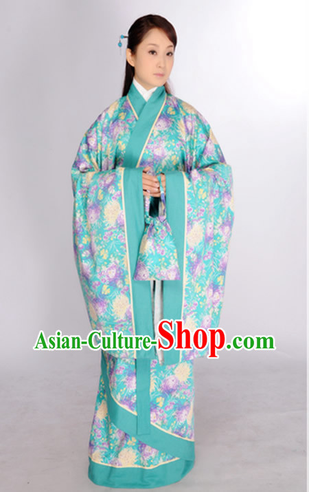 Ancient Chinese Han Fu Suit for Women