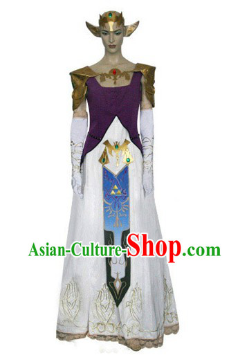 Twilight Princess Princess Zelda Costume from The Ocarina of Time