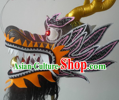 Size 4 Dragon Dance Head for Middle School Students and Women