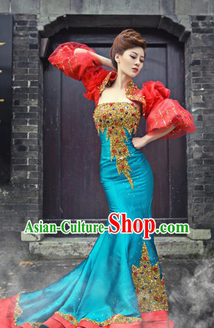 2013 New Design Shinning Lace Evening Dress
