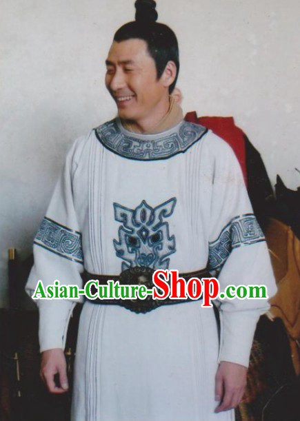 Ancient Chinese Yuan Fang Detective Costumes for Men