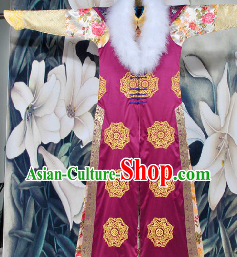 Traditional Chinese Qing Dynasty Princess Outfit