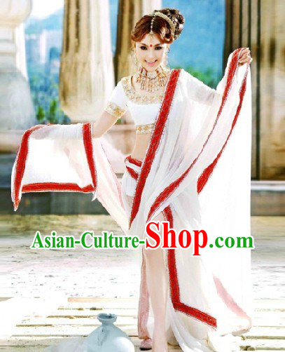 Traditional Indian Dance Costumes and Veil for Women