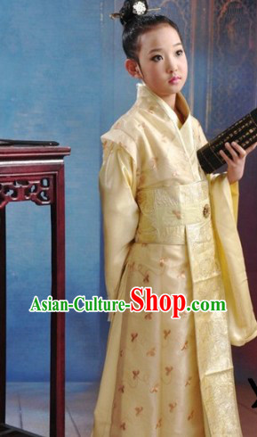 Traditional Ancient Chinese Prince Robe for Children