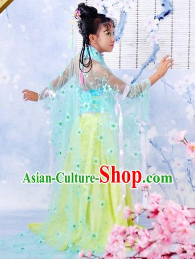 Traditional Ancient Chinese Princess Outfit for Children