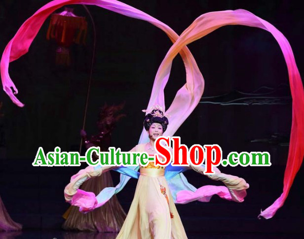 Ancient Chinese Beauty Yang Guifei Stage Performance Clothes Outfit