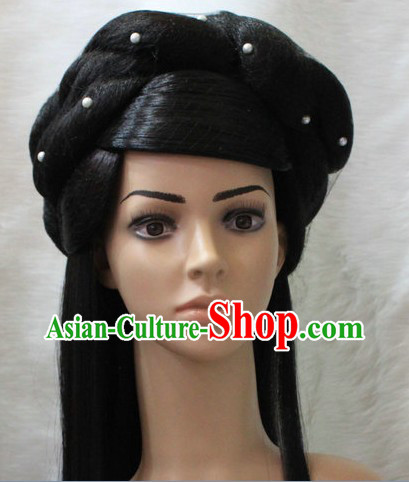 Ancient Chinese Long Wig for Women
