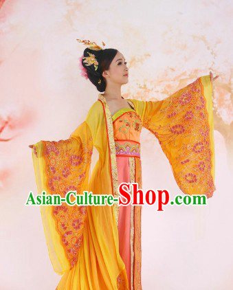 Ancient Chinese Stage Performance Style Empress Costumes