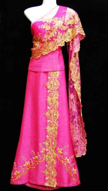 Traditional Asian Thailand Uniform for Women