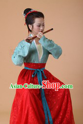 Ancient Chinese Musician Costumes for Ladies