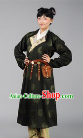 Ancient Traditional Chinese Tang Dynasty Outfit for Girls