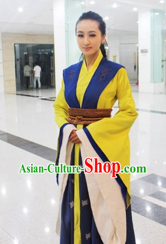 Ancient Chinese Imperial Palace Maid Costumes Complete Set