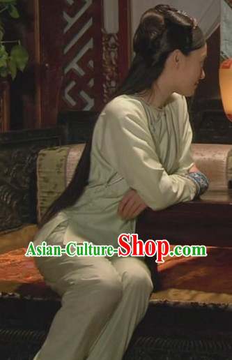 Qing Dynasty Chinese Zhong Yi Imperial Concubine Inside Clothing for Women