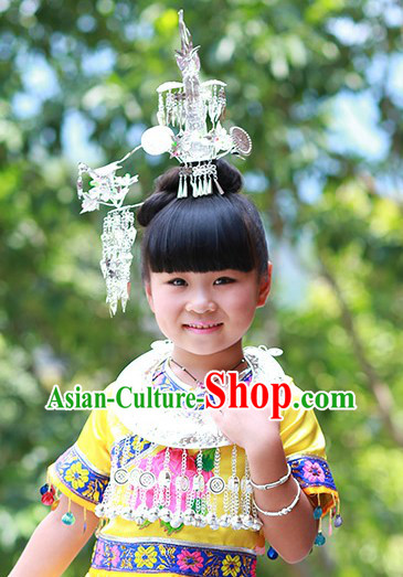 Traditional Chinese Miao Headdress