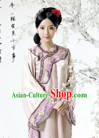 Chinese Manchu Minority Princess Clothing