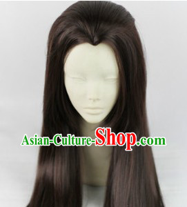 Ancient Chinese Calliver Warrior Long Wig for Men