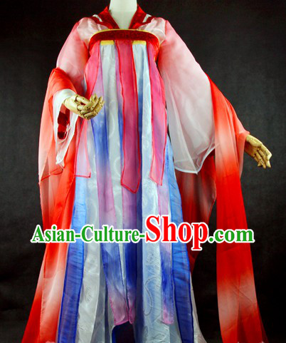 Ancient Chinese Tang Dynasty High Waist Ruqun Clothing for Women
