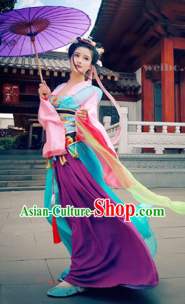 Ancient Chinese Cartoon Character Princess Clothes for Women