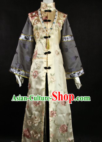 Ancient Chinese Embroidery Cosplay Robe for Men