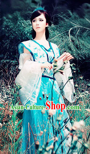 Ancient Chinese Fairy Goddness Costume for Women