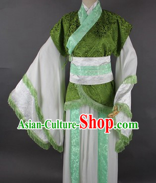 Ancient Chinese Gong Zi Cosplay Costume for Men