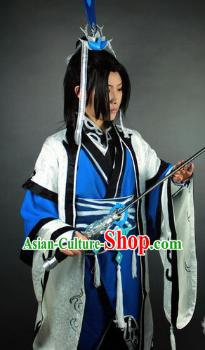 Ancient Chinese Swordsman Costume for Men