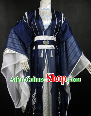 Traditional Ancient Chinese Prince Costume for Men