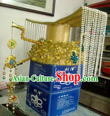 Chinese Ancient Tang Dynasty Female Emperor Wu Zetian Crown