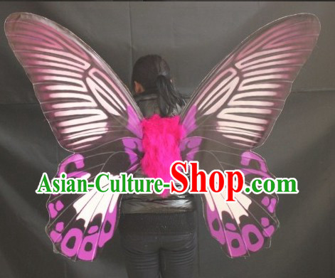 Super Big Stage Performance Victoria Secret Model Style Adult Dance Butterfly Wings