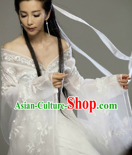 Ancient Chinese Da Hua Xi You Li Bing Bing Fairy Costume