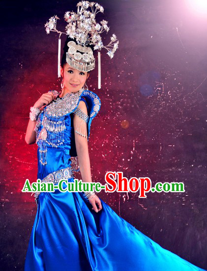 Traditional Chinese Hmong Dance Clothes