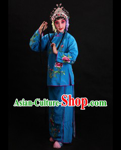 Traditional Chinese Opera Servant Costume