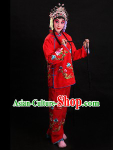 Traditional Chinese Opera Waitress Costume