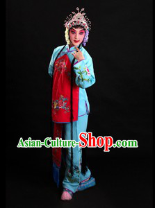 Traditional Chinese Restaurant Waitress Costumes for Women