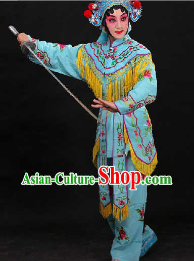 Chinese Traditional Opera Female Warriors Heroine Costumes The Cultural Heritage of China