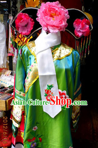 The Return of The Pearl Princess Qing Dynasty Costume and Headwear