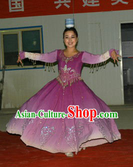 Traditional Chinese Xinjiang Clothing for Women