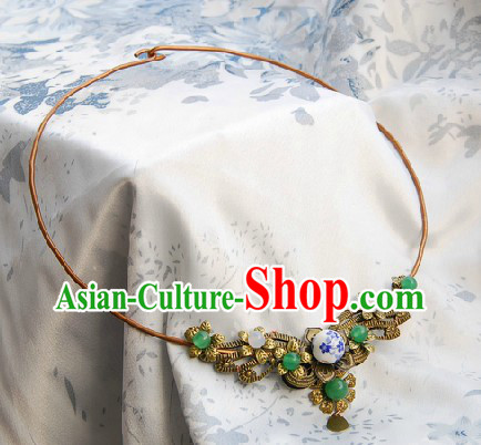Traditional Chinese Hanfu Necklace