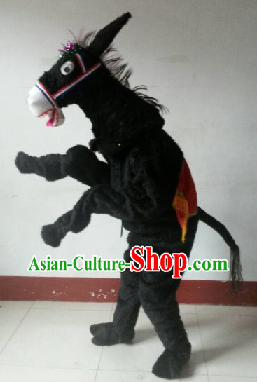 Traditional Chinese New Year Parade Donkey Costumes for Adults