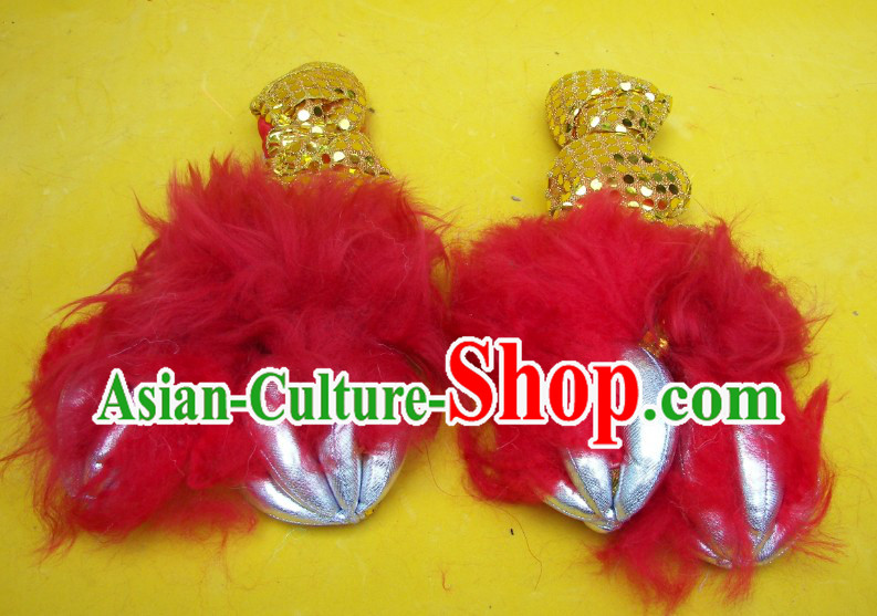 Professional Lion Dance Claws for Performance and Competition