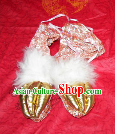 One Pair of Lion Dance Claws for Professional Performance and Competition