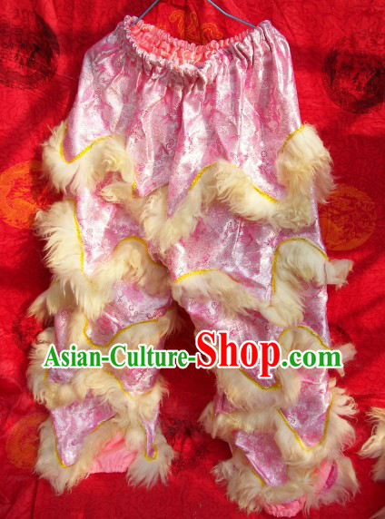 Dragon Fabric Chinese Festival Celebration One Pair of Lion Dance Pants and Shoes Covers