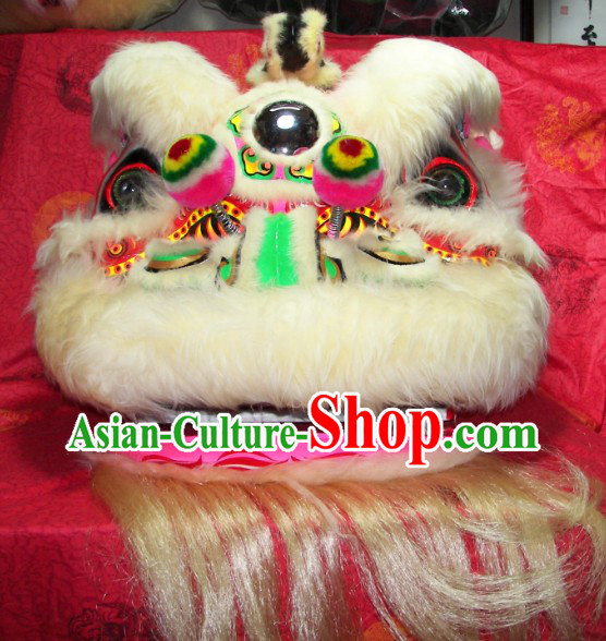 Children Size Top Quality Competition and Parade Chinese Lion Dance Costumes Complete Set