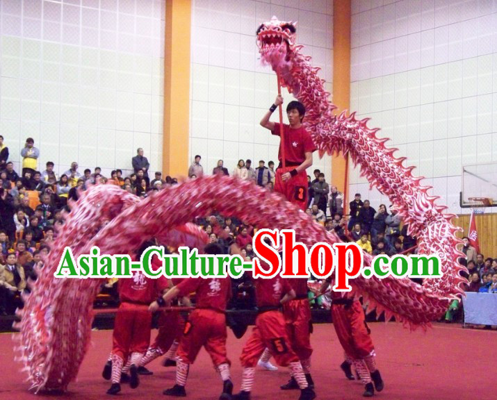 Professional Worldwide Dragon Dance Competition Costumes Complete Set