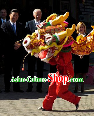 Classic Dragon Dance Costumes Complete Set