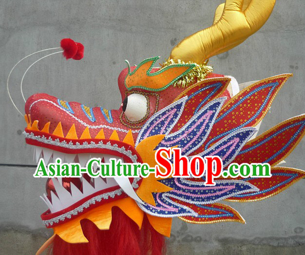 Professional Competition and Performance Size No. 3 Dragon Dance Head
