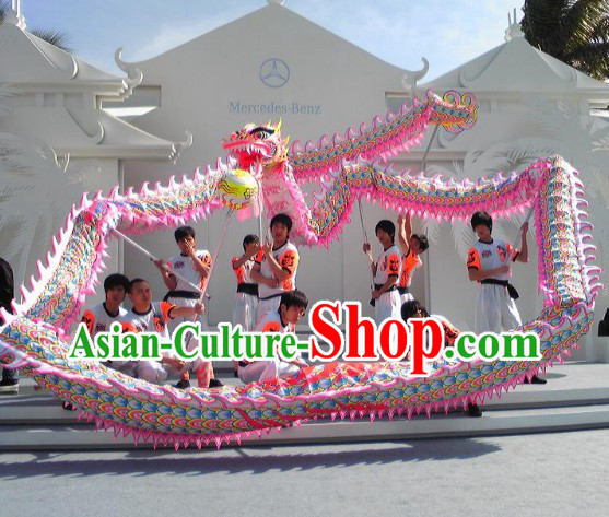 Grand Opening and International Competition Top Luminous Dragon Dance Costumes Complete Set